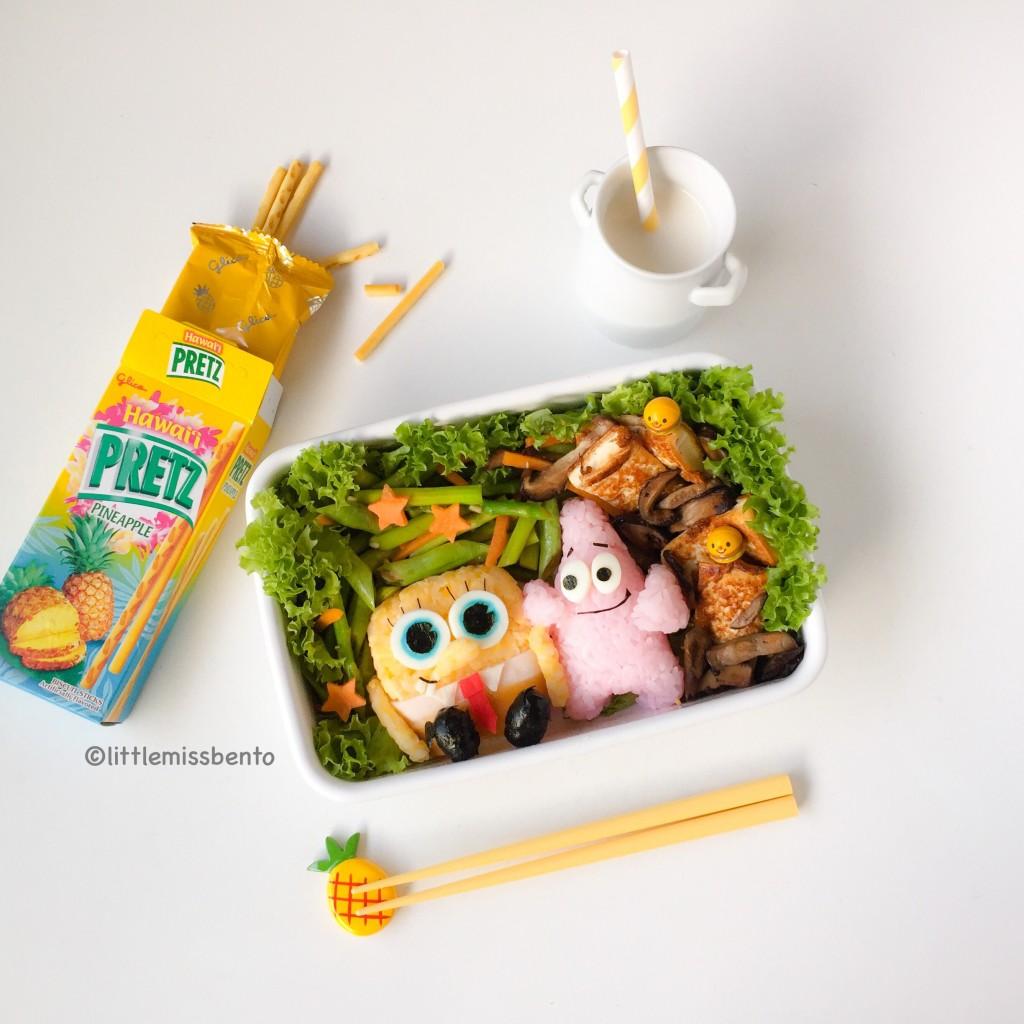 SpongeBob Bento (5)