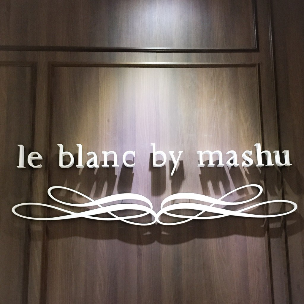 le blanc by mashu