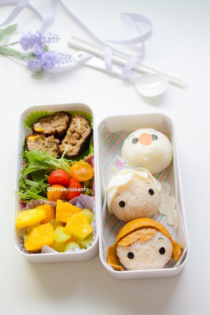 Frozen Tsum Tsum Bento (2)