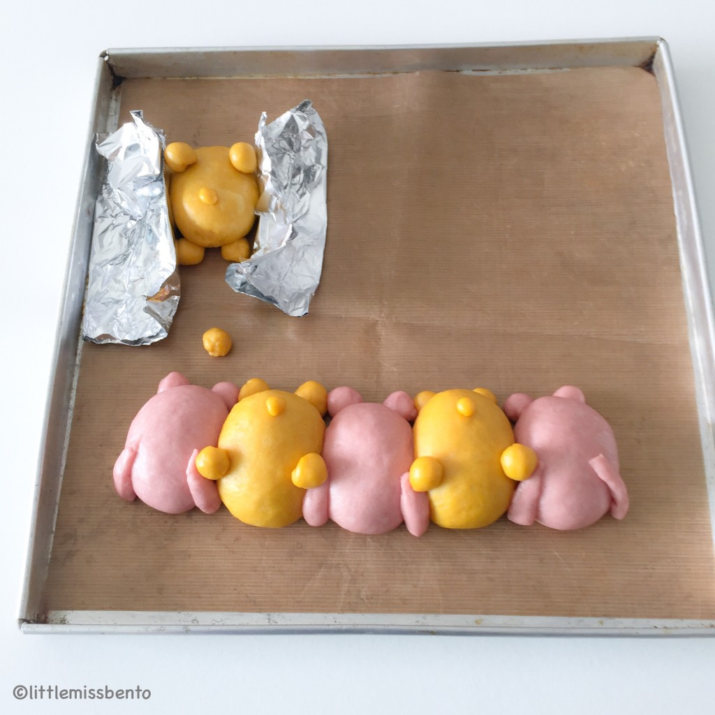 Pooh Tsum Tsum Bread Recipe (1)