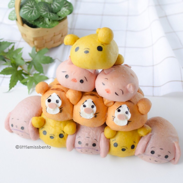 Pooh Tsum Tsum Bread Recipe (3)