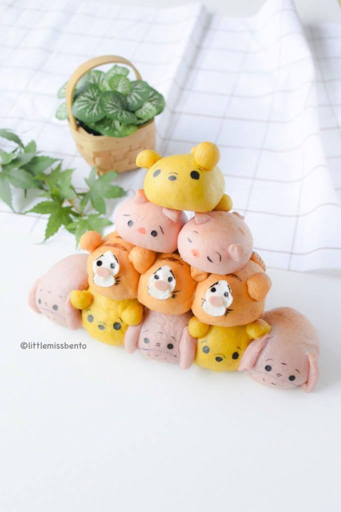 Pooh Tsum Tsum Bread Recipe (5)