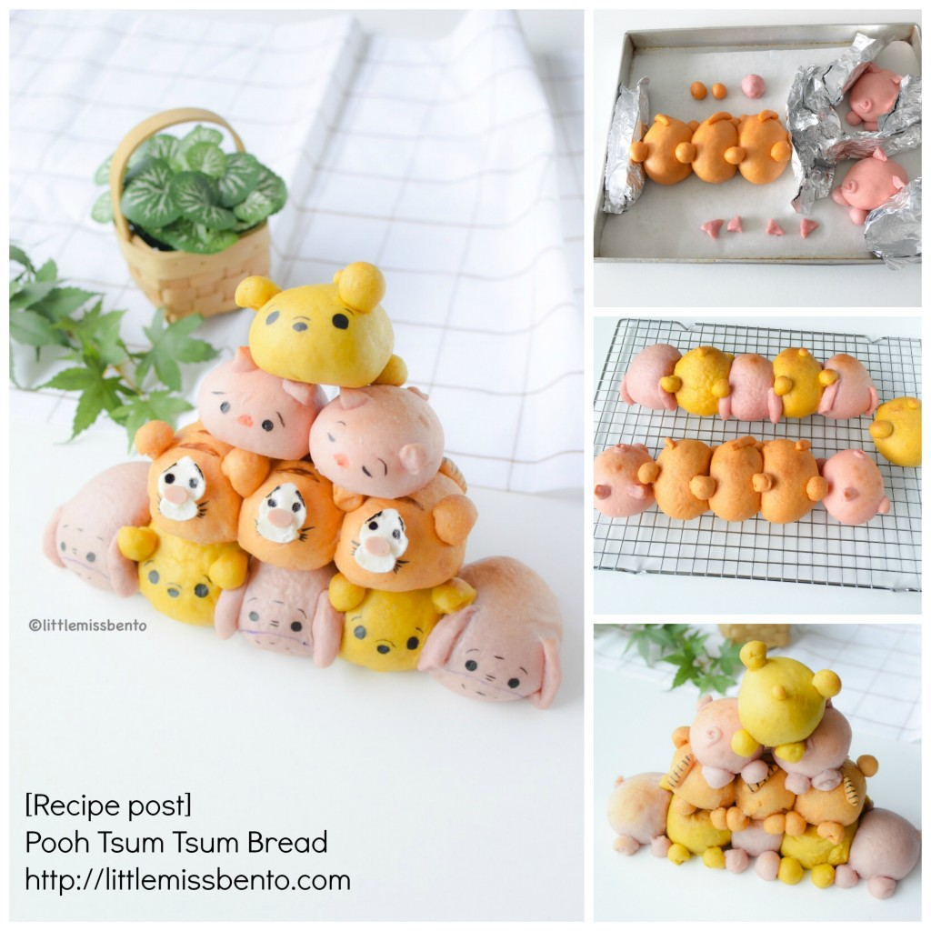 Recipe Pooh Tsum Tsum Bread