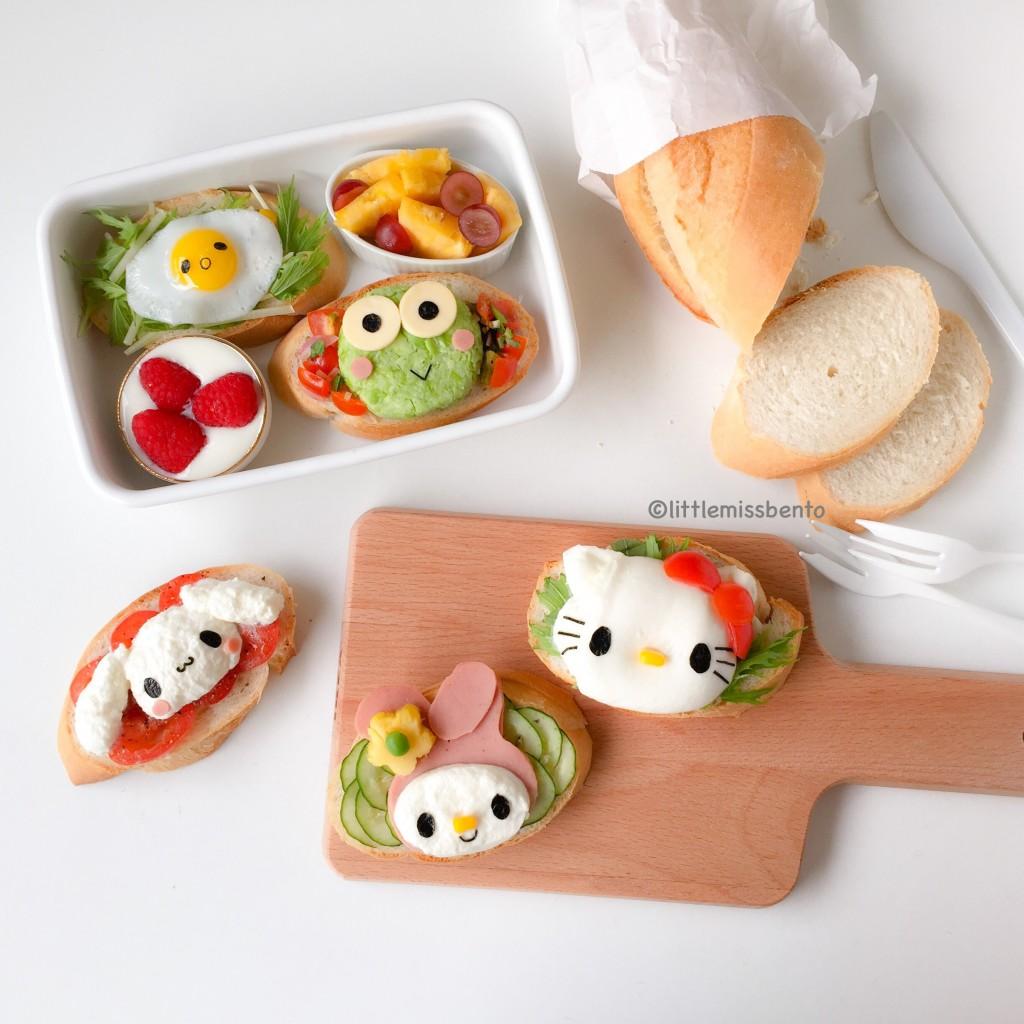 Sanrio Toast Foodart Bento (1)