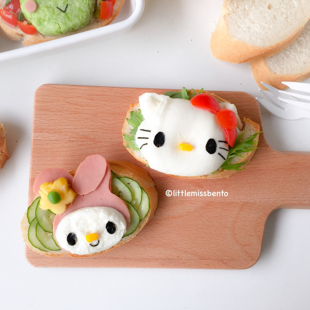 Sanrio Toast Foodart Bento (3)
