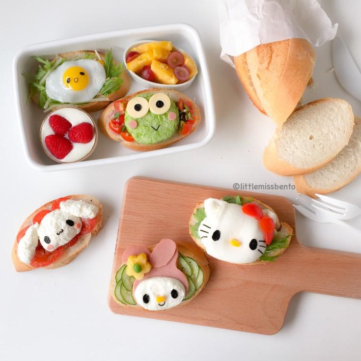 Sanrio Toast Foodart Bento (4)