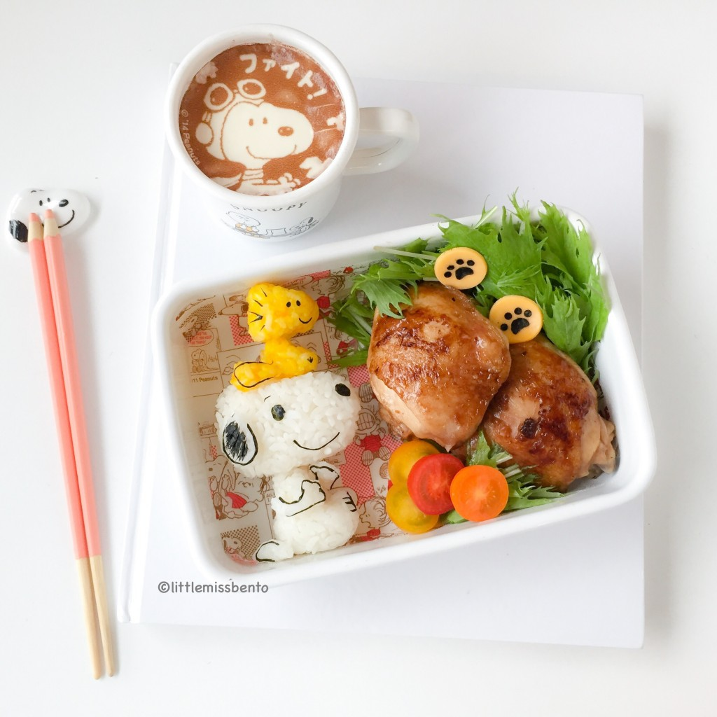 Snoopy Bento (2)