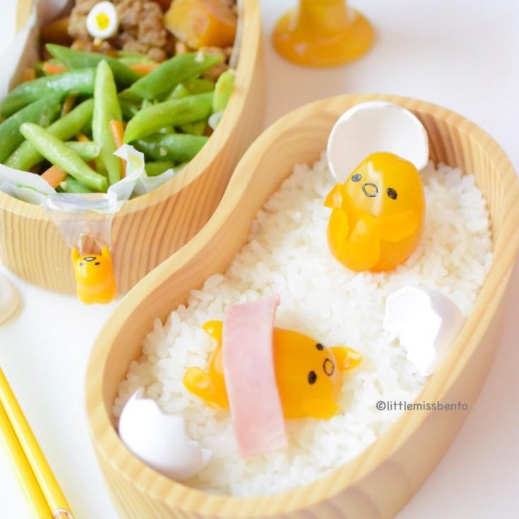 Gudetama Tomato Bento (4)