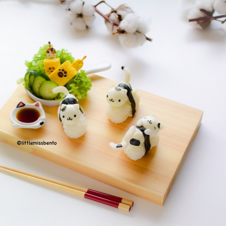 Quail Egg Kitty Sushi (1)