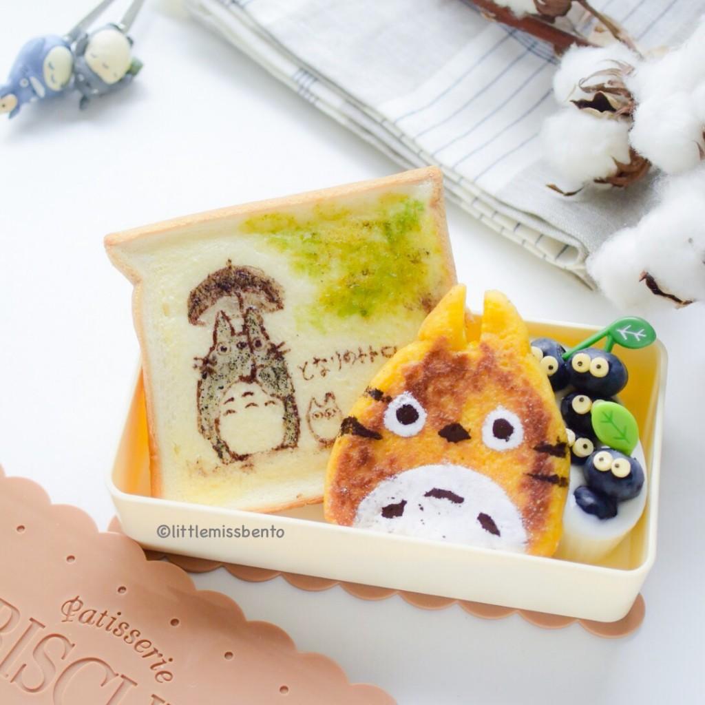 Totoro Toast Bento (1)