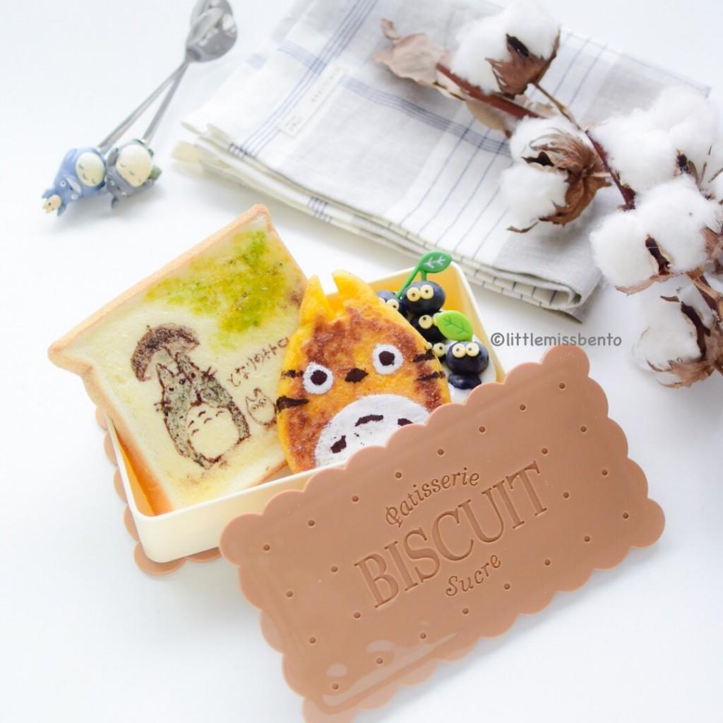 Totoro Toast Bento (4)