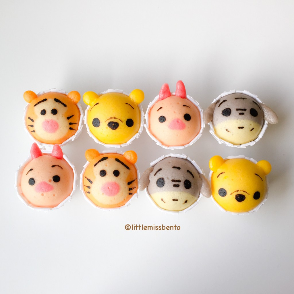 Winnie the Pooh Disney Tsum Tsum Deco Steam Cake Recipe (1)