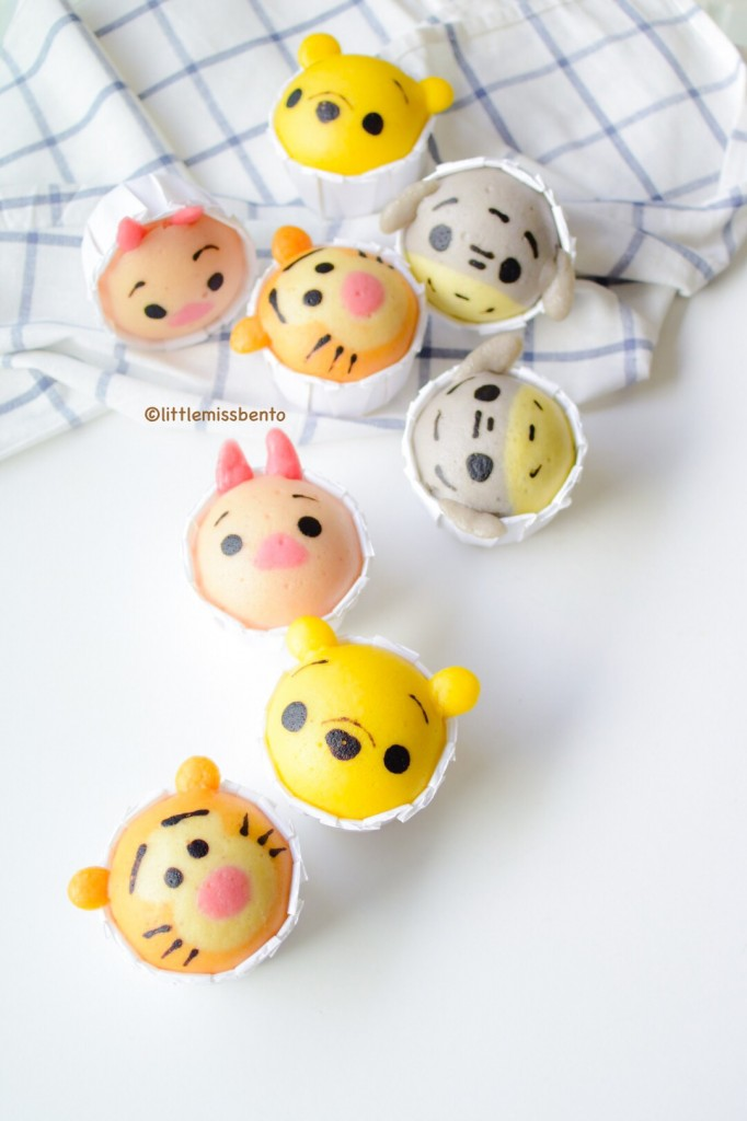 Winnie the Pooh Disney Tsum Tsum Deco Steam Cake Recipe (13)