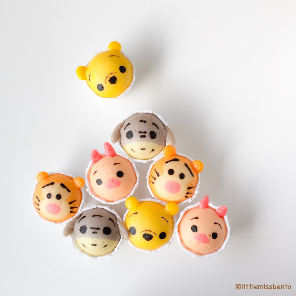 Winnie the Pooh Disney Tsum Tsum Deco Steam Cake Recipe (6)