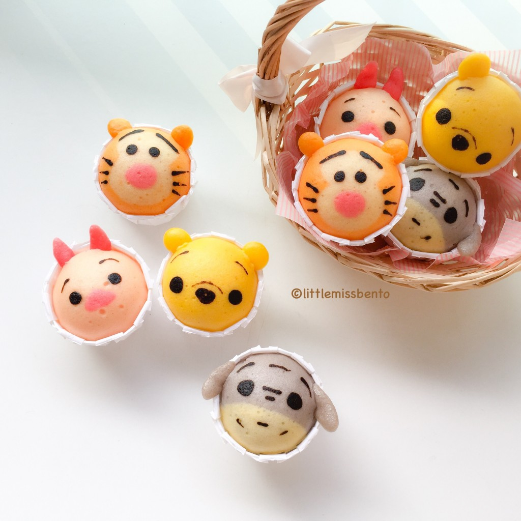 Winnie the Pooh Disney Tsum Tsum Deco Steam Cake Recipe (7)