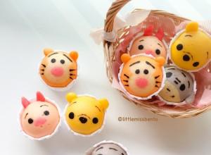Winnie the Pooh Disney Tsum Tsum Deco Steam Cake Recipe (7)