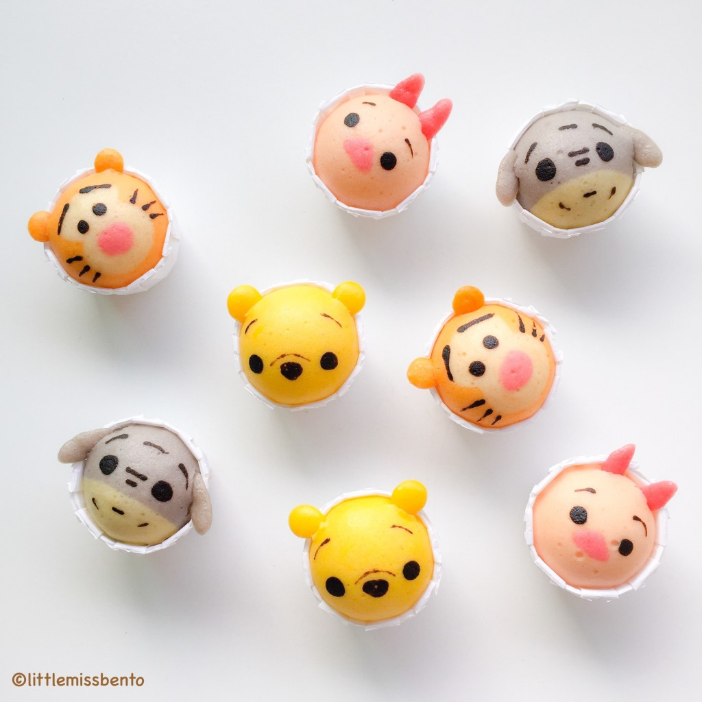 Winnie the Pooh Disney Tsum Tsum Deco Steam Cake Recipe (9)