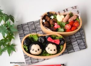 Mickey Minnie Tsum Tsum Bento (1)