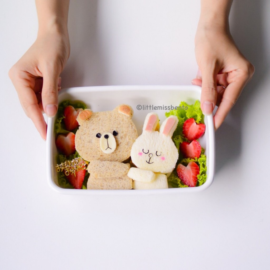 Brown Cony Bento (1)