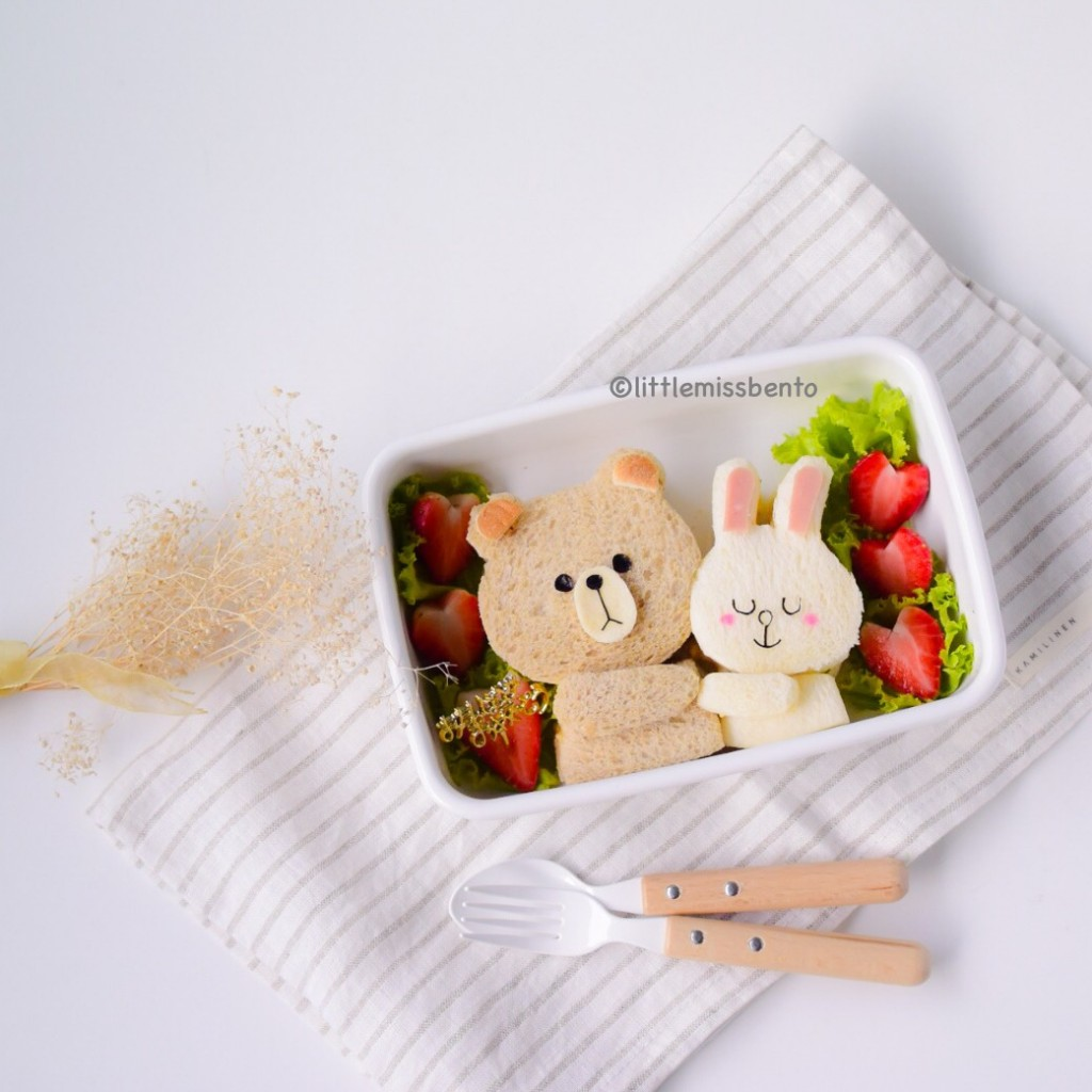 Brown Cony Bento (2)