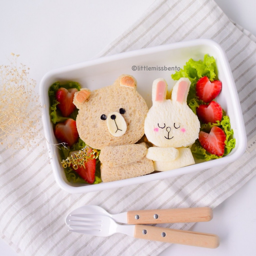 Brown Cony Bento (3)