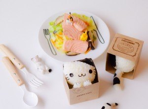 Cat in Box Onigiri kawaii (3)