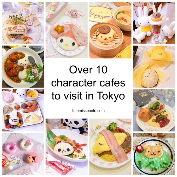 Character Cafe in Tokyo