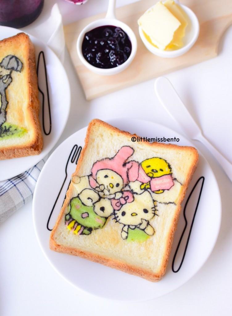 Sanrio Deco Toast