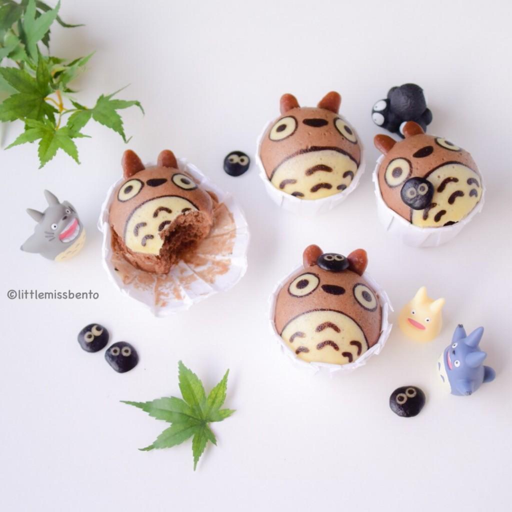 Totoro Deco Steam Cake (1)
