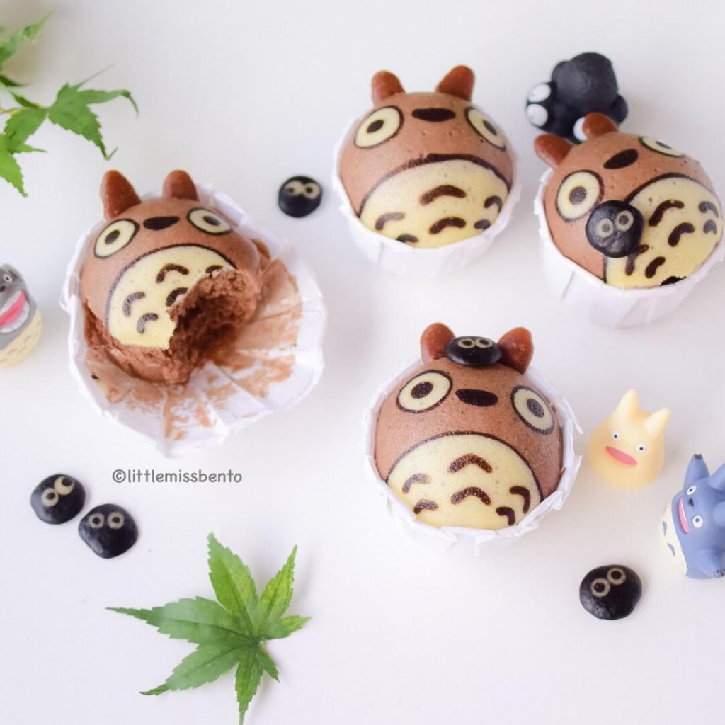 Totoro Deco Steam Cake (3)