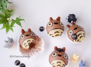 Totoro Deco Steam Cake
