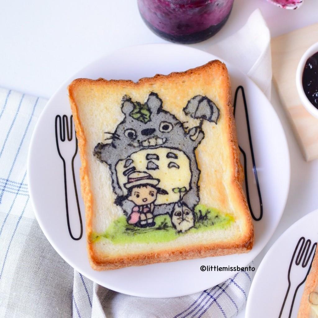 Totoro Deco Toast