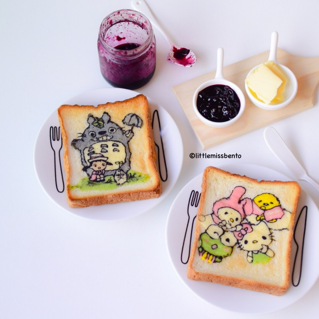 Totoro Sanrio Deco Toast (1)