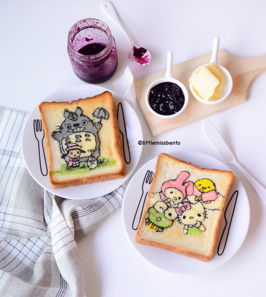 Totoro Sanrio Deco Toast (3)