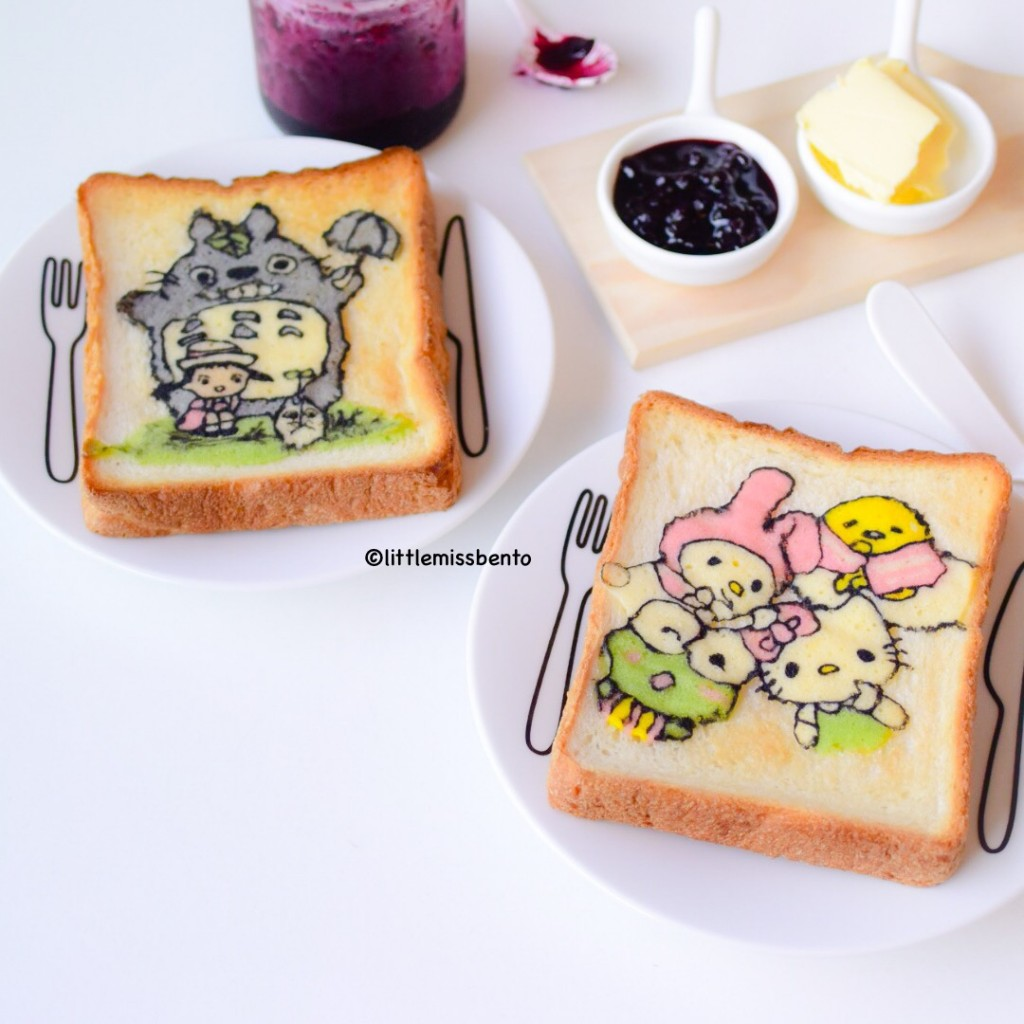 Totoro Sanrio Deco Toast (4)