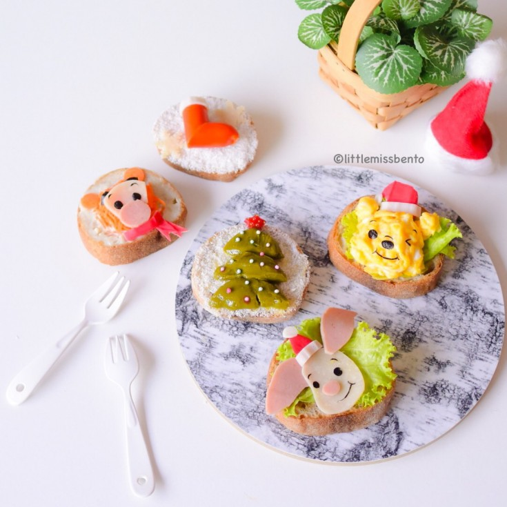 Winnie the Pooh Xmas Toast (1)