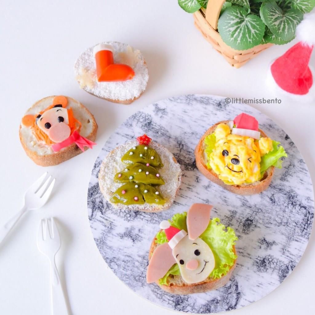 Winnie the Pooh Xmas Toast (3)