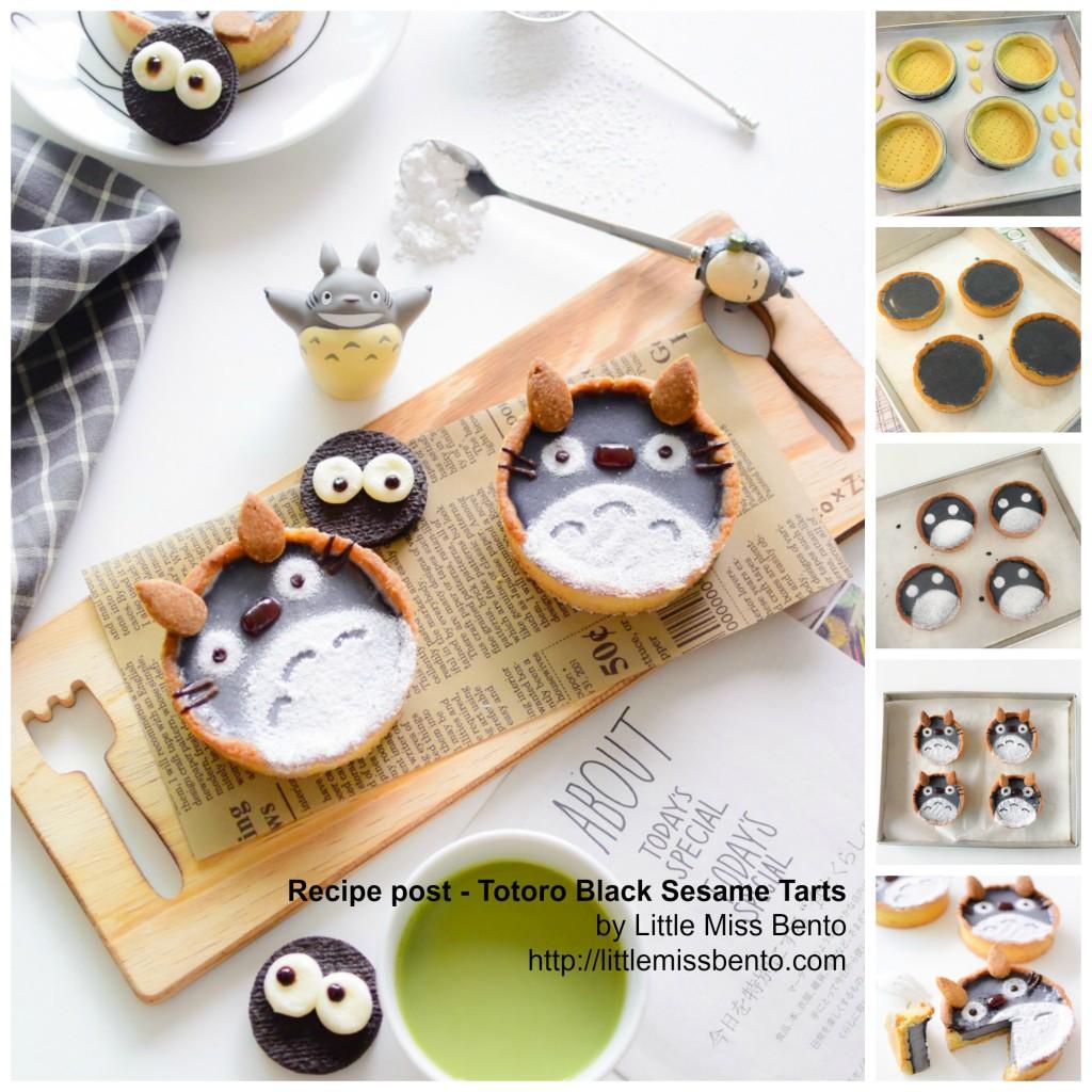 Recipe Totoro Tarts