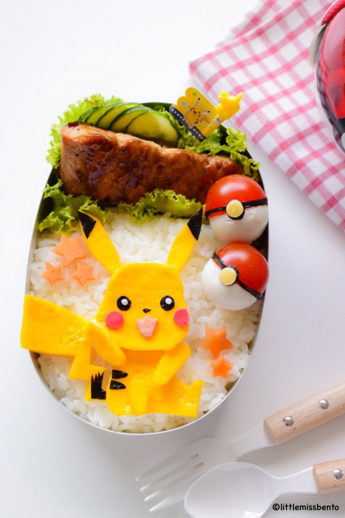 Pikachu Bento 2