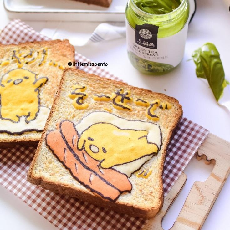 Gudetama Toast (1)