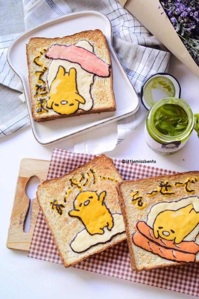 Gudetama Toast (3)