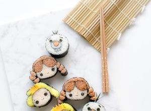 Frozen Tsum Tsum Sushi
