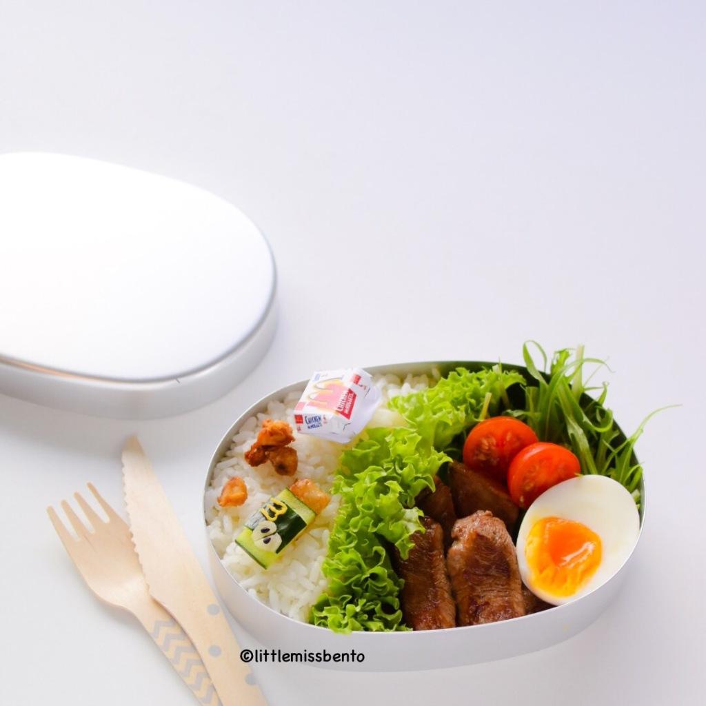 Miniature Bento McDonalds Japan 4