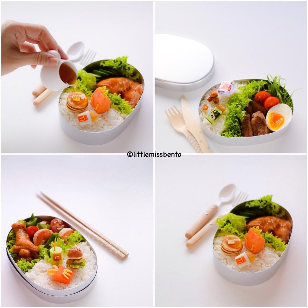 Miniature Bento McDonalds Japan 5